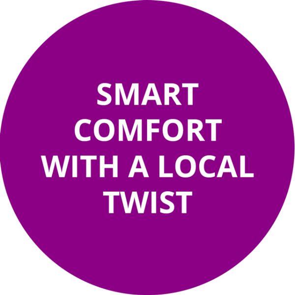 Smart comfort with a local twist