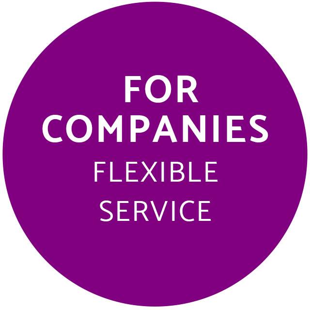 Flexible service for company accommodation