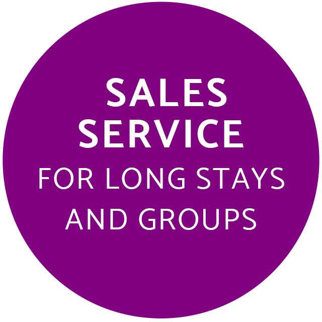 Place to Sleep Hotels sales service