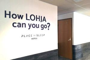 Place to Sleep Hotel Lohjan brändi